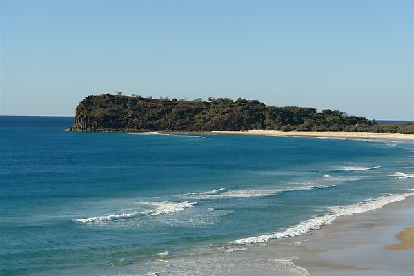 The only rock formation on Fraser Island Indian Head provides an excellent lookout vantage point.